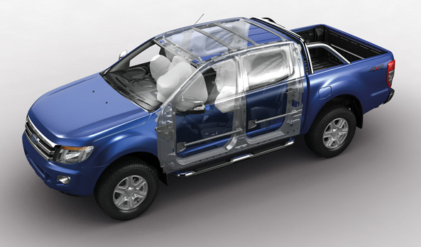 Safety all-round with more airbags
