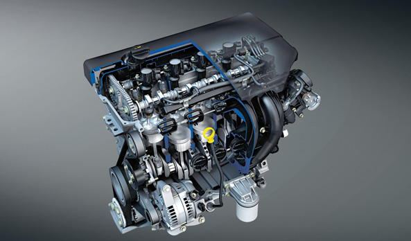 1.8L and 2.0L Duratec benzene engine with E20 compatibility